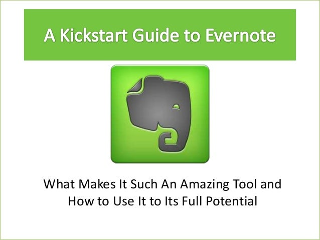 Evernote slideshow
