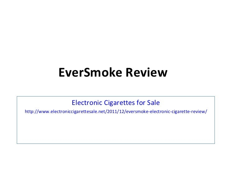 EverSmoke Review