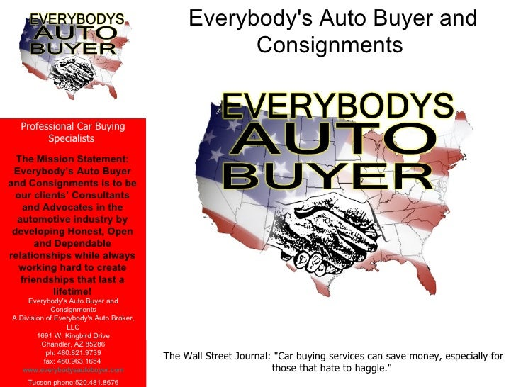 Everybody's Auto Buyer and Consignments