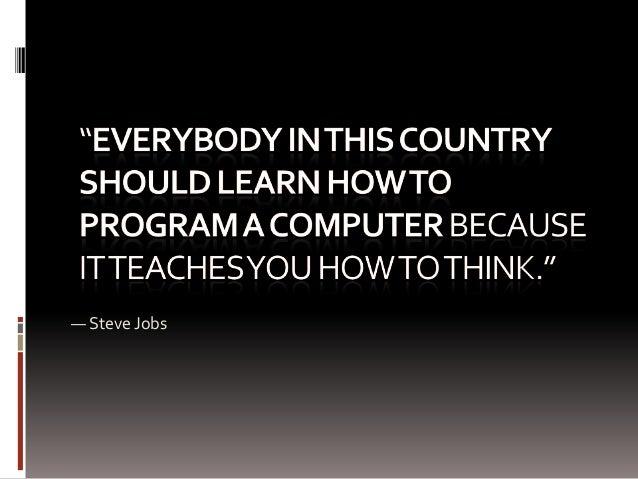 — Steve Jobs