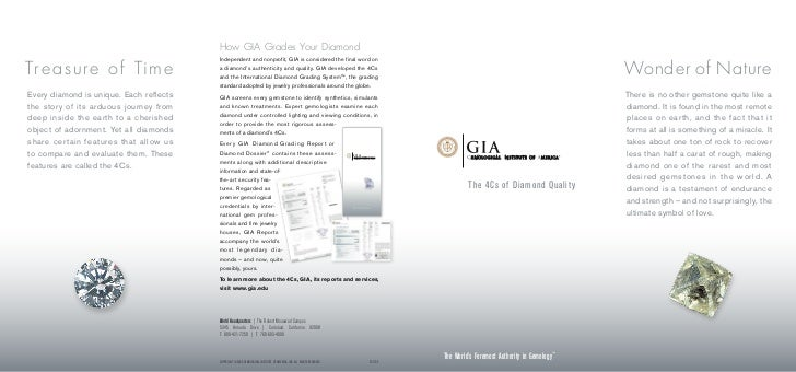 How GIA Grades Your Diamond                                         Independent and nonprofit, GIA is considered the final...