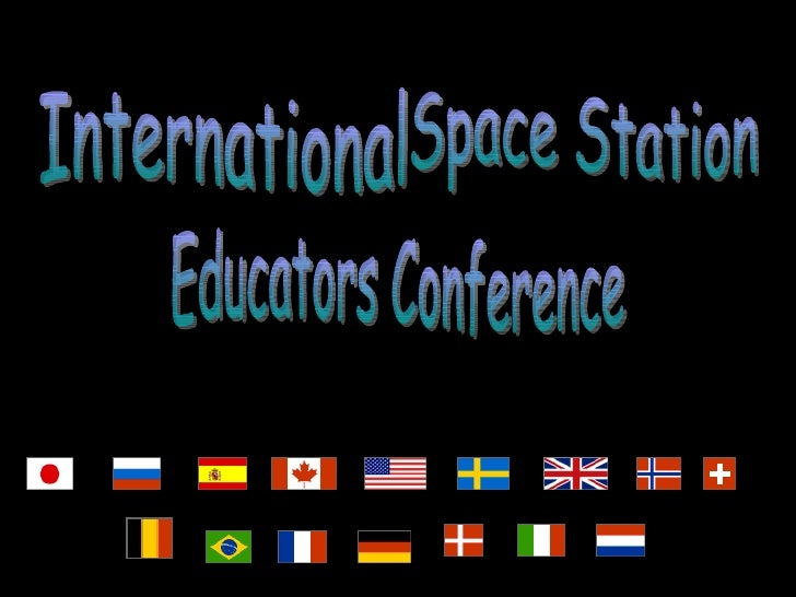 International  Space Station  Educators Conference