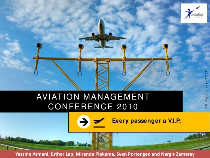 Every passenger a vip