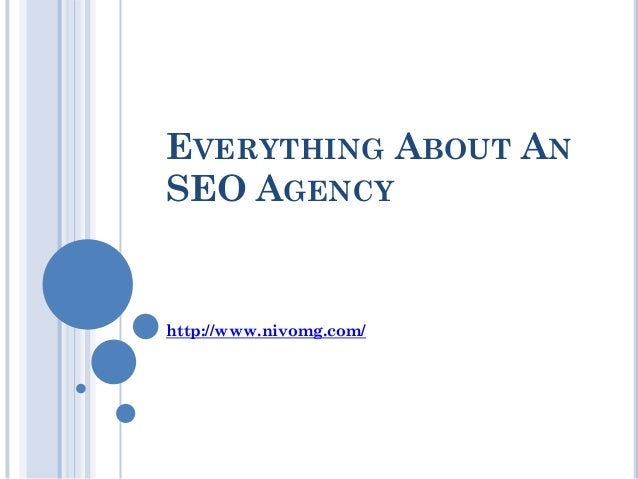 Everything about an seo agency