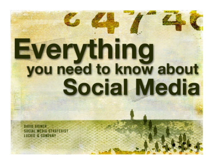 Social media ! is an umbrella term for digital tools that let you share information and network with others.