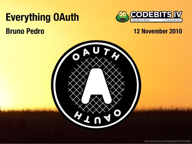 Everything OAuth