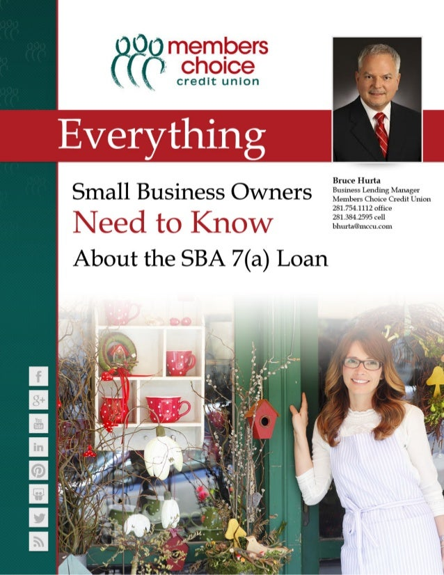 Everything Small Business Owners Need to Know About the SBA 7(a) Loan