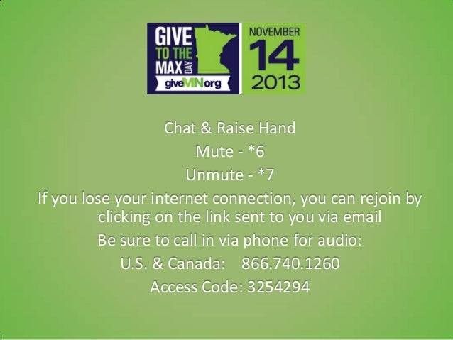 Everything you need to know about give to the max day 2013