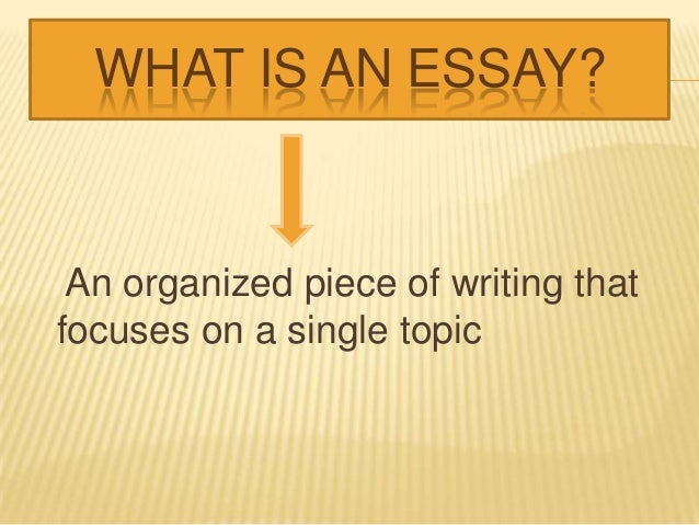 what is organization essay Spatial organization is one of the principles of organization in writing that arranges items according to their relationships or physical position this means that when describing an item, one would.