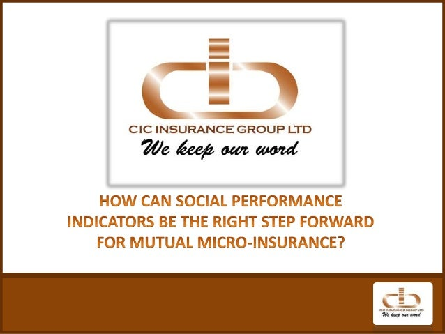 How can social performance indicators be the right step forward for mutual microinsurance?