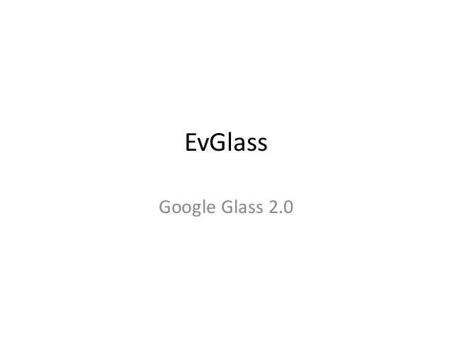 Glass' evolution, some suggestions