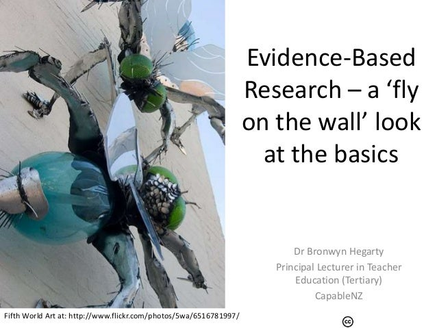 Evidence-Based                                                                   Research – a 'fly                        ...