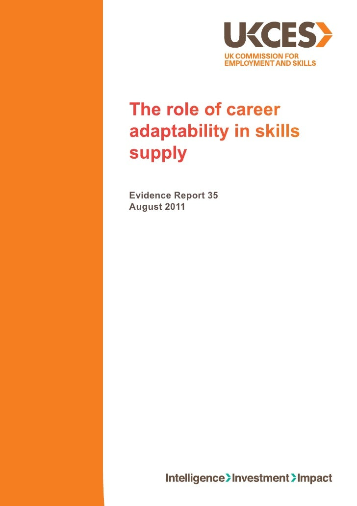 Evidence report-35-role-of-career-adaptability