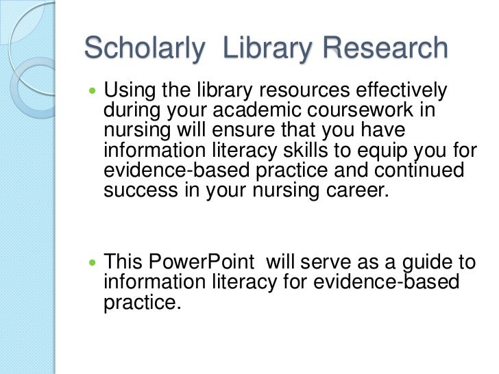 information literacy and evidence Information literacy: evidence of impact on tutortrac toggle dropdown  in addition to the general information literacy competencies for madison college libraries.