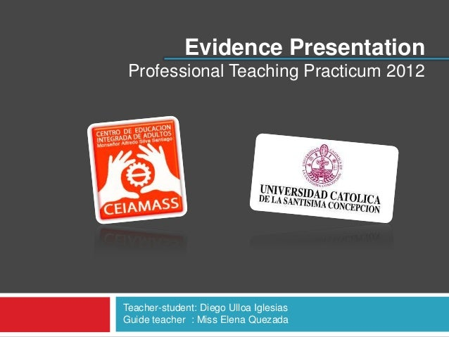 Evidence Presentation PTP
