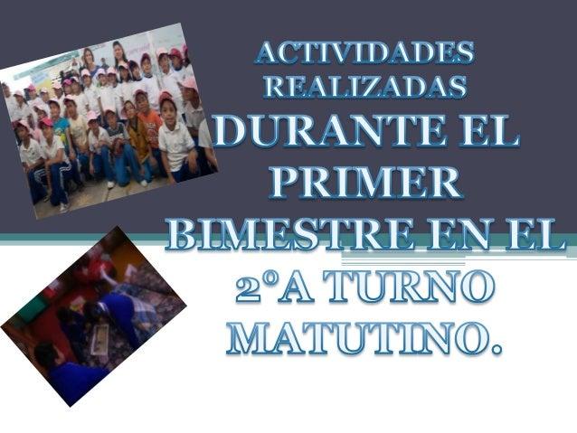 ACTIVIDADES EN SALA DE LECTURAS