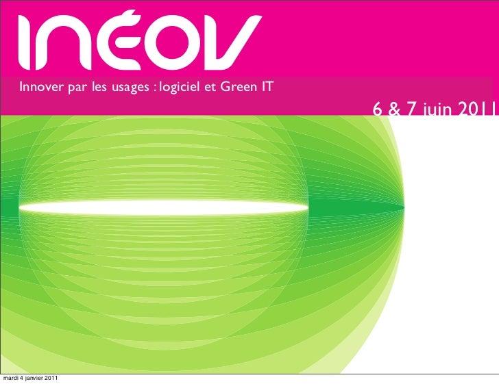 Innover par lesrhône-alpeset Green IT     rencontres      usages : logiciel de l'innovation                               ...