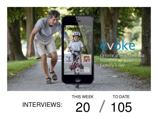 THIS WEEK   TO DATEINTERVIEWS:               20         105