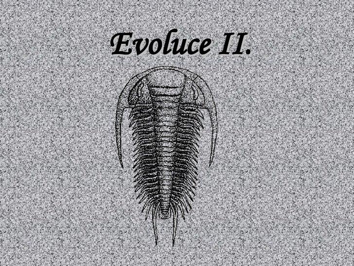 Evoluce I Idoplnena