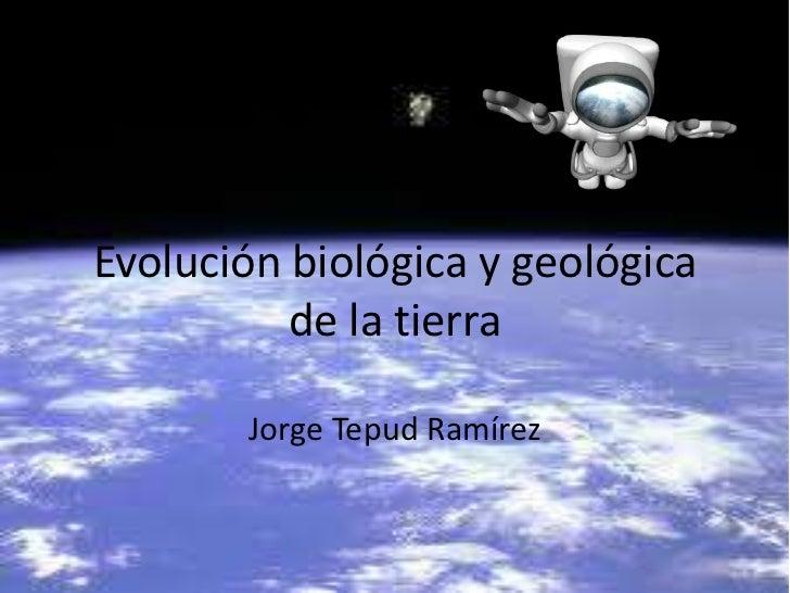 Evolucion Quimica y Biologica Evolución Biológica y