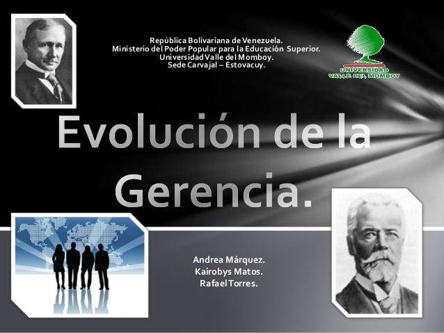 República Bolivariana de Venezuela.Ministerio del Poder Popular para la Educación Superior.             Universidad Valle ...