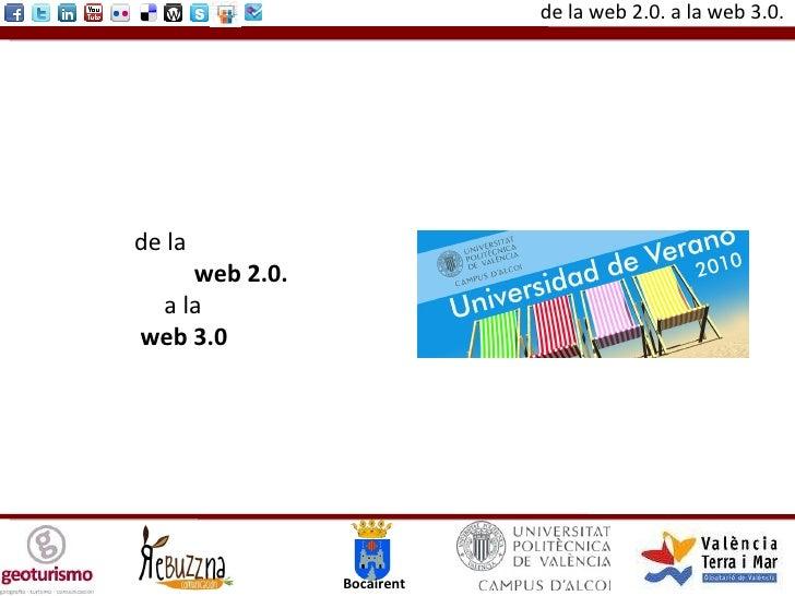 De la web 2.0. a la web 3.0.