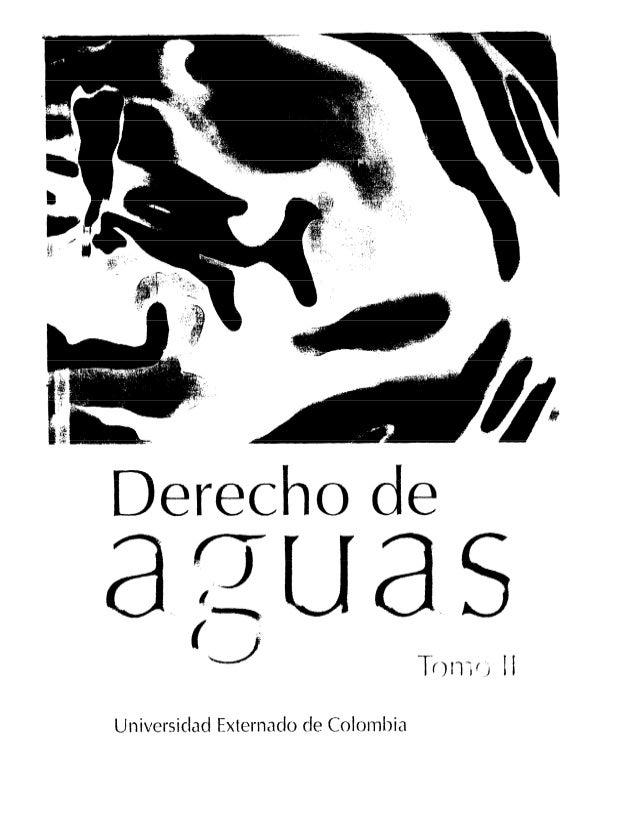 Derecho  de  a ~ua,s T