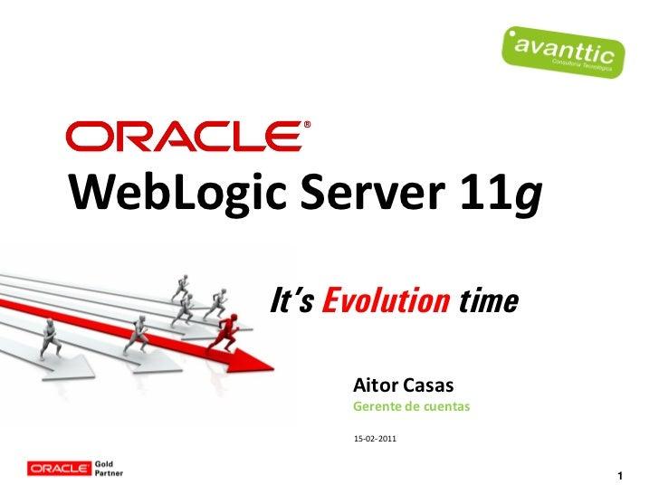 Oracle Weblogic Server 11g