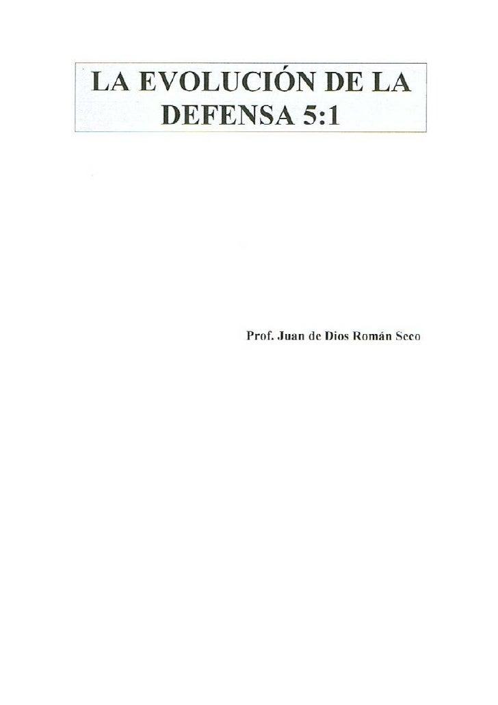 Evolucion de la defensa