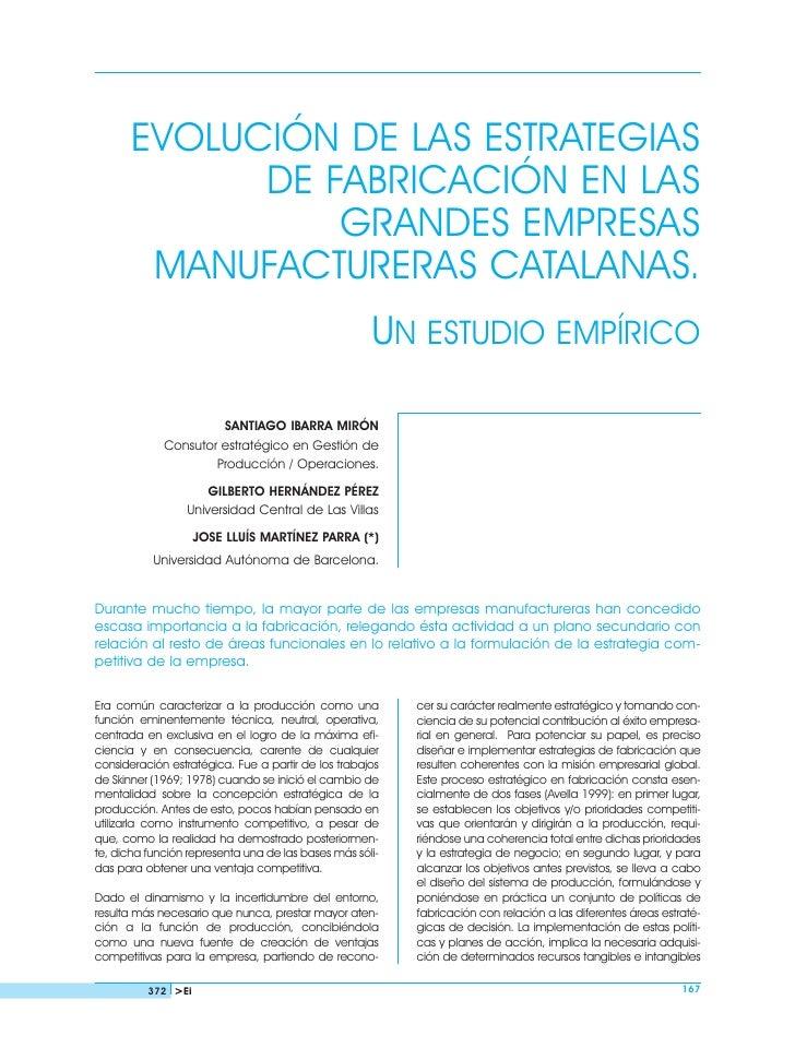 Evolucion de las estrategias de fabricacion en españa ibarra (1)