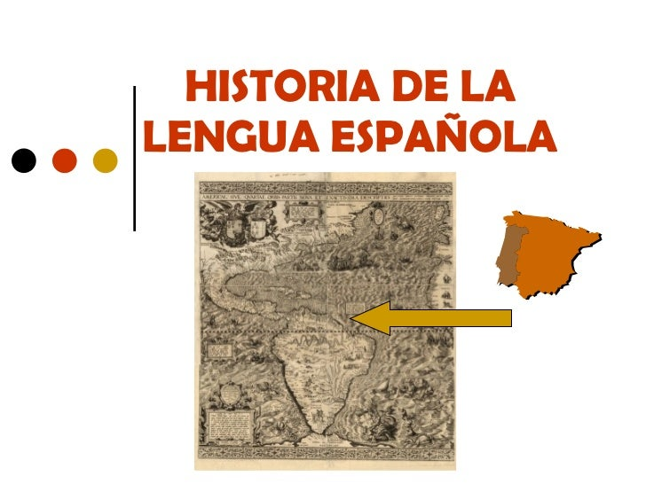 Evolución lengua española