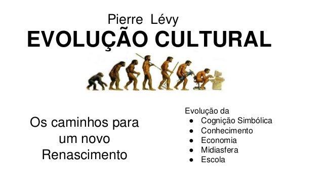 EVOLUÇÃO CULTURAL  Os caminhos para  um novo  Renascimento  Evolução da  ● Cognição Simbólica  ● Conhecimento  ● Economia ...