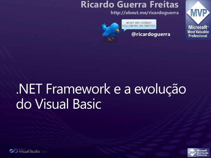Evolução do .NET Framework e do Visual Basic