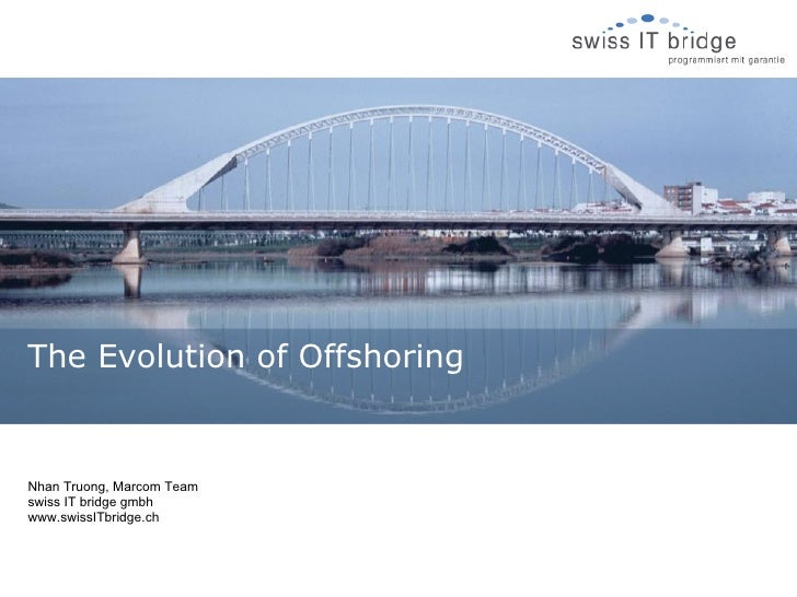 The Evolution of Offshoring
