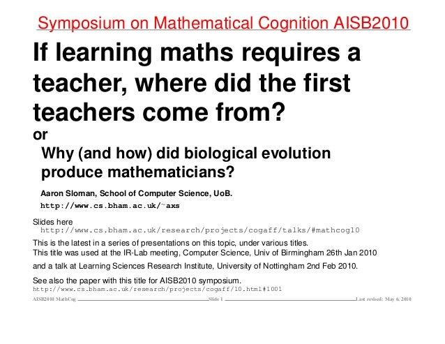 Evolution euclid-mathematical-cognition