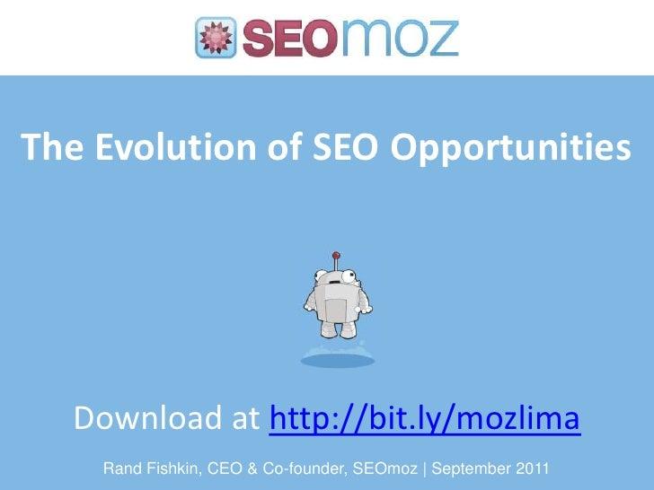 Evolution SEO MozCation Lima