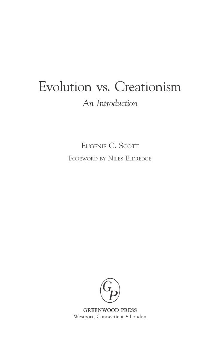 How to end my persuasive essay? evolution vs. creationism?