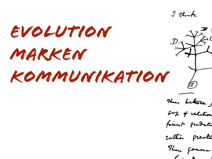 Evolution Marken kommunikation