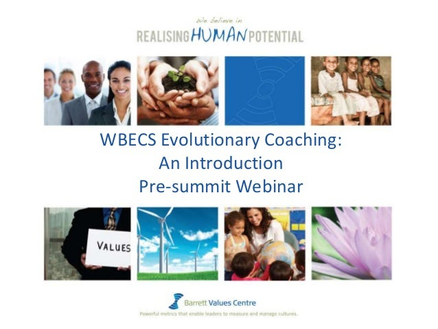 WBECS Evolutionary Coaching: An Introduction Pre-summit Webinar
