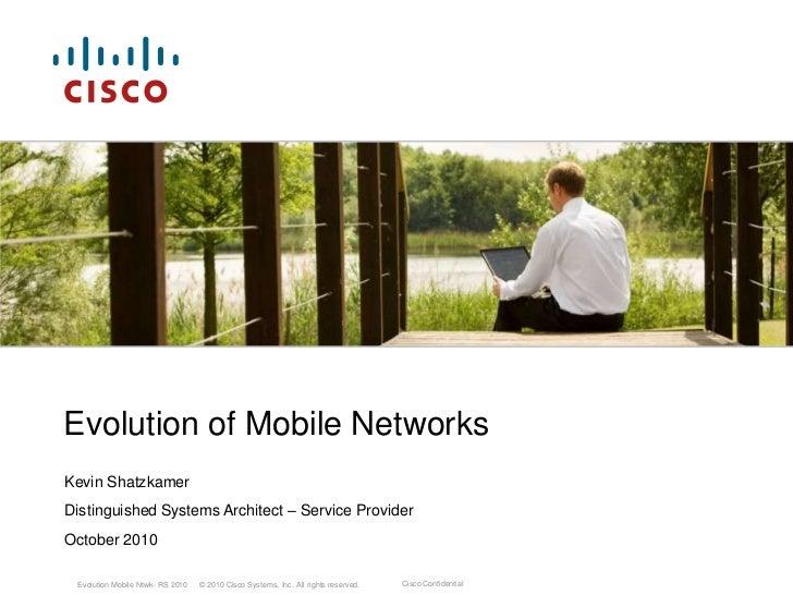Evolution Mobile Networks - 4G World