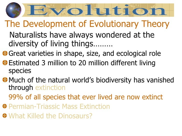 explain darwin's theory of evolution essay