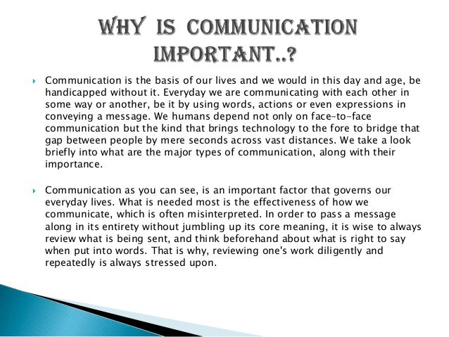 old means of communication With the increased use of social based networks, people can create new relationships and also discover old friends with technology, parents can communicate and keep track of their children so communication has become easier and cheaper.
