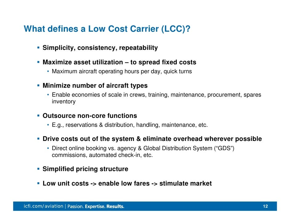 lcc of airline industry Don't miss the latest news from annaaero european lcc and legacy airline one of the basic realities of the aviation industry is that passenger.
