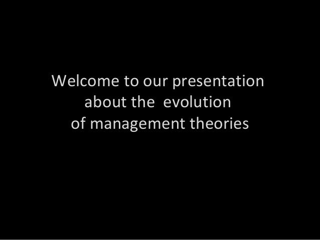 The Evolution of Management Theory: Past, Present, Future: Amazon.co ...