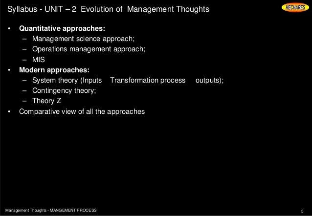 evolution of management thoughts The evolution of management thought, 6th edition - kindle edition by daniel a wren download it once and read it on your kindle device, pc, phones or tablets use features like bookmarks, note taking and highlighting while reading the evolution of management thought, 6th edition.
