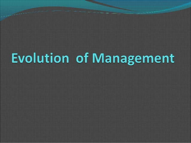 Development of managementthoughtManagement thought refers to the theories that guide management of people in the organisa...
