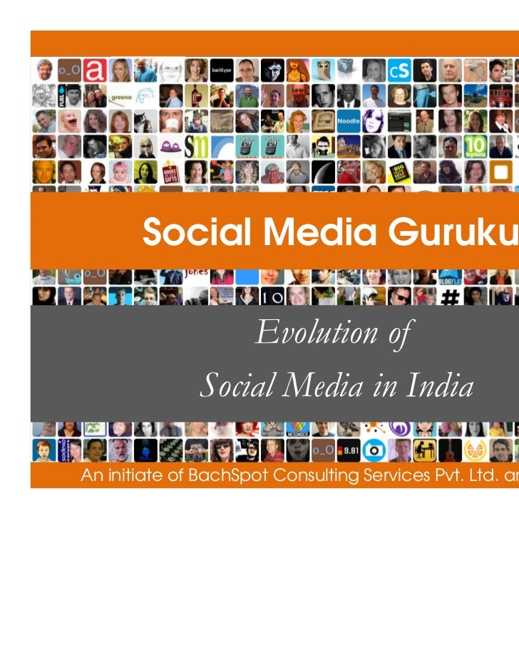 Evolution of Social Media in India