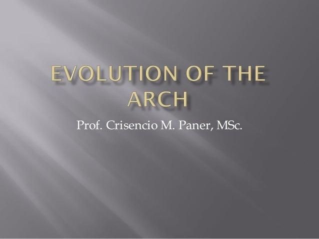 Prof. Crisencio M. Paner, MSc.