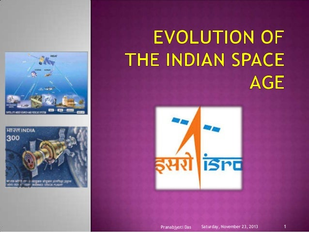 Evolution of the indian space age