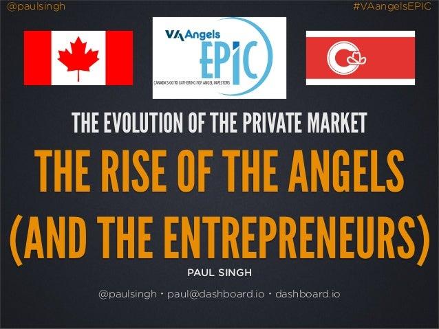 Evolution of the Private Market